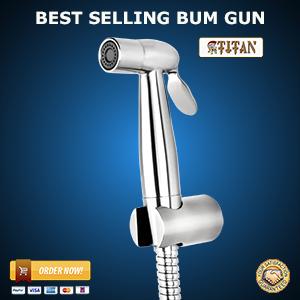 Titan-stainless-bidet-sprayer-2016-the-bum-gun