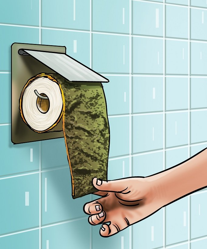Is toilet paper eco-friendly
